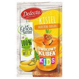 Owocowy kubek Kids Kisiel marchew-banan