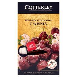 Herbatka owocowa z wiśnią