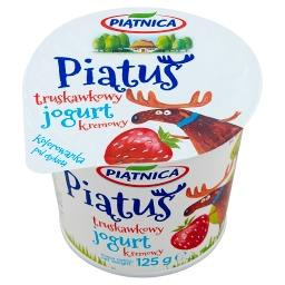 Piątuś Jogurt typu greckiego truskawkowy