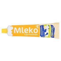 Mleko zagęszczone słodzone karmelowe