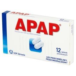 500 mg Tabletki powlekane 12 tabletek
