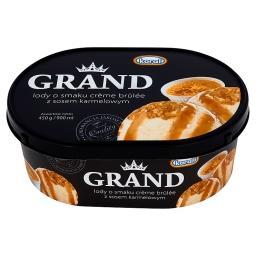 Grand Lody o smaku crème brûlée z sosem karmelowym