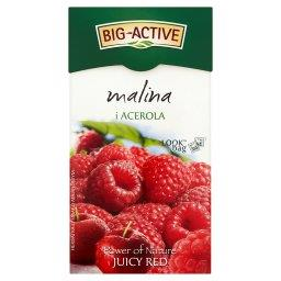 Power of Nature Juicy Red malina i acerola Herbatka 45 g (20 torebek)