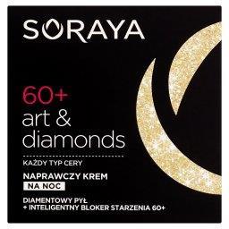 Art & diamonds 60+ Naprawczy krem na noc