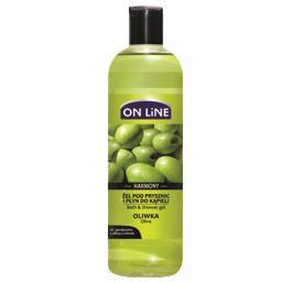 Żel pod prysznic i płyn do kąpieli 2  w 1 oliwka harmony 500 ml