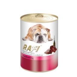 Mokra karma dla psa z wołowiną puszka 400 g