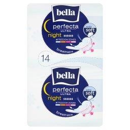 Perfecta Ultra Night Extra Soft Podpaski higieniczne 14 sztuk