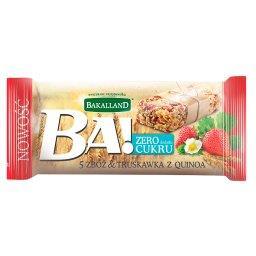 Ba! 5 zbóż & truskawka z quinoa Baton zbożowy