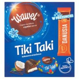 Tiki Taki kokosowo-orzechowe Czekolada z nadzieniem