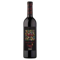 Wino czerwone półsłodkie ukraińskie