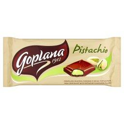 Pistachio Czekolada mleczna z kremem o smaku pistacjowym