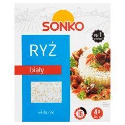 Ryż biały 400 g (4 torebki)