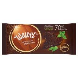 Czekolada gorzka z cząstkami miętowymi 70% Cocoa