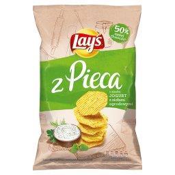Z Pieca Pieczone chipsy Jogurt z ziołami ogrodowymi