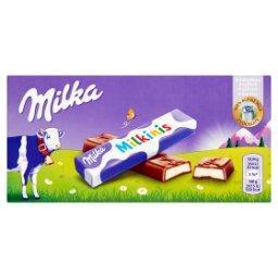 Milkinis Batoniki z czekolady mlecznej  (8 sztuk)