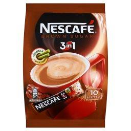 3in1 Brown Sugar Rozpuszczalny napój kawowy z brązowym cukrem 170 g (10 saszetek)