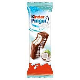 Pingui Coco Biszkopt z mlecznym i kokosowym nadzieniem pokryty mleczną czekoladą