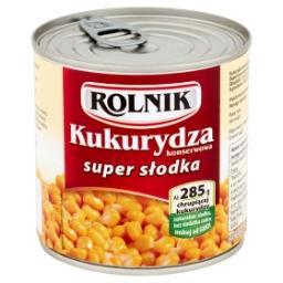 Kukurydza konserwowa super słodka