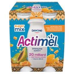 Actimel Mleko fermentowane o smaku papaja-miód-propolis 400 g
