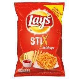 Stix o smaku ketchupu Chipsy ziemniaczane