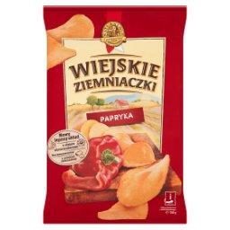 O smaku papryki Chipsy ziemniaczane