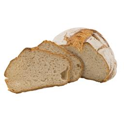 Chleb okrągły pęknięty