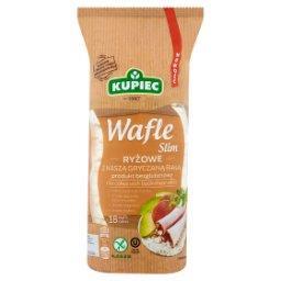 Slim Wafle ryżowe z kaszą gryczaną białą  (18 sztuk)