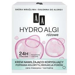 Hydro Algi różowe Krem nawilżająco-korygującycera mieszana normalnadzień