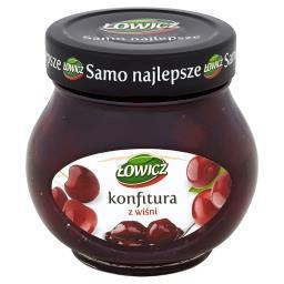 Konfitura extra z wiśni niskosłodzona
