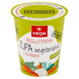 Bezglutenowa zupa wegetariańska z błonnikiem
