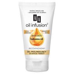 Oil Infusion2 Żel peelingujący do mycia twarzy