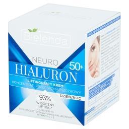 Neuro Hialuron 50+ Koncentrat przeciwzmarszczkowy liftingujący krem na dzień noc
