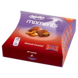 Moments Czekolada mleczna Almond Caramel  (11 sztuk)