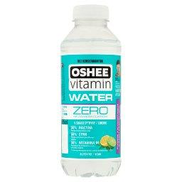 Vitamin Water Zero Niegazowany napój o smaku cytryny-limonki