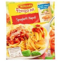 Pomysł na... Spaghetti Napoli