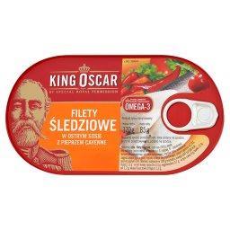 Filety śledziowe w ostrym sosie z pieprzem cayenne