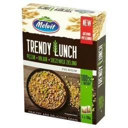 Premium Trendy Lunch pęczak bulgur soczewica zielona 400 g (4 torebki)