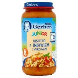 Junior Risotto z indykiem i warzywami po 12 miesiącu