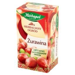 Herbaciany Ogród Żurawina Herbatka owocowo-ziołowa 50 g (20 torebek)