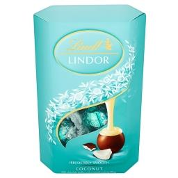 Lindor Coconut Pralinki z czekolady mlecznej z nadzi...