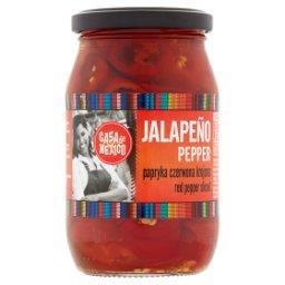 Papryka czerwona Jalapeño krojona
