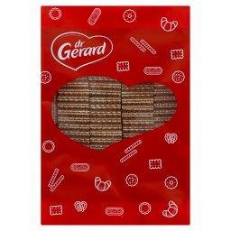 Wafelki z kremem o smaku śmietankowym i czekoladą