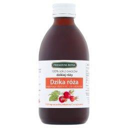 100% sok z owoców dzikiej róży