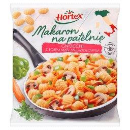 Makaron na patelnię Gnocchi z sosem maślano-ziołowym