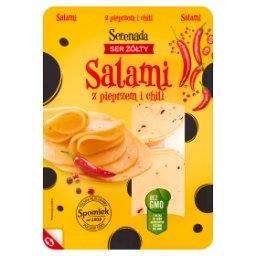 Ser żółty Salami z pieprzem i chili