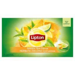 Herbata zielona cytrusowa  (40 torebek)