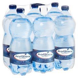 Woda źródlana gazowana 6 x 1 l