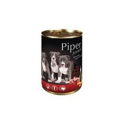 Mokra karma dla psa junior Piper z sercami wołowymi i marchewką 400 g