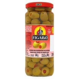 Hiszpańskie oliwki zielone nadziewane pastą paprykową