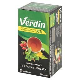 Fix Suplement diety kompozycja 6 ziół z czarną herba...